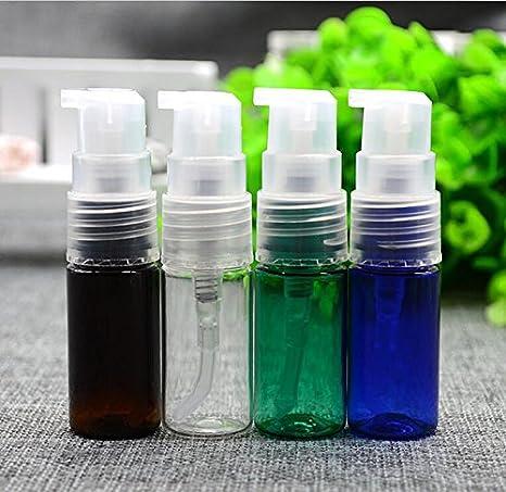 4pcs 10 ml Plástico Bomba Botellas con pipette-refillable pico botellas maquillaje cosméticos crema loción de tocador líquido de almacenamiento contenedores ...