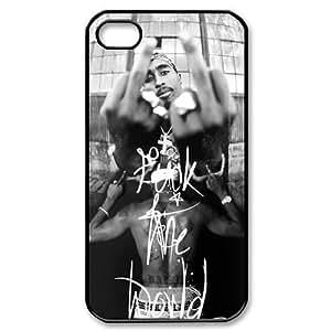 2Pac Iphone 4 4S Case Tupac Amaru Shakur Cases Cover Black Sides at abcabcbig store WANGJING JINDA