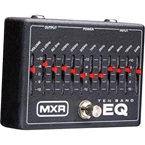 mxr 10 band graphic eq w 18v power supply musical instruments. Black Bedroom Furniture Sets. Home Design Ideas