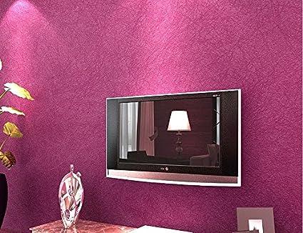 3D thick non-woven wallpaper modern minimalist living room bedroom ...