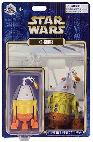 Disney Parks 2018 Star Wars R4-B0018 R4-BOO18 Halloween Droid Factory