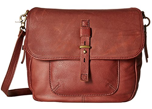 Lucky Brand Medine Conv Messenger Bag, Brandy, One Size by Lucky Brand