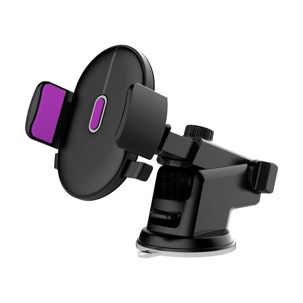 IMIFUN Easy Fixed Universal Phone Holder Car Mount Holder Cradle for iPhone Xs XS Max X 8 8 Plus 7 7 Plus SE 6s 6 Plus 6 5s 5 4s 4 Samsung Galaxy S6 S5 S4 LG Nexus Sony Nokia and More/… P1
