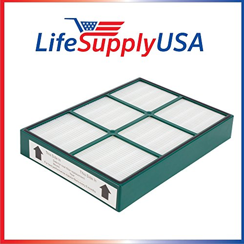 - LifeSupplyUSA Replacement True HEPAtech Filter fits Hunter 30936 Quiet Flo Air Purifier