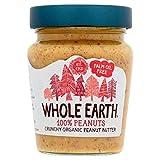 Whole Earth Organic Crunchy Palm Oil Free Peanut Butter - 227g (0.5lbs)