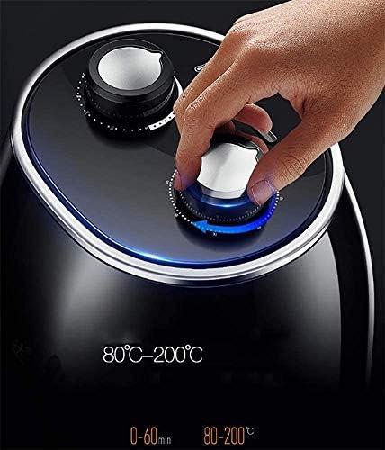 Super Deal 1230W électrique Air Fryer W/minuterie, contrôle de la température, poignées de panier amovible sans huile.