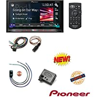 Pioneer AVH4200NEX 2-DIN Receiver w 7 Motorized Display/Built-In Bluetooth/NEX Pac TR1 Bypass Universal Trigger Output Axxess ASWC-1 Universal Steering Wheel Control Interface