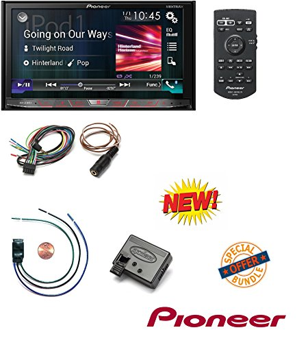 "Pioneer AVH4200NEX 2-DIN Receiver w 7"" Motorized Display/Bui"