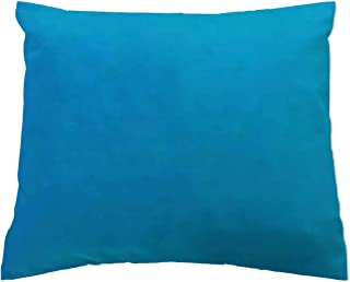 product image for SheetWorld Crib Toddler Pillow Case, 100% Cotton Woven, Turquoise Woven, 13 x 17, Made in USA