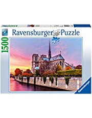 Malerisches Notre Dame. Puzzle 1500 Teile