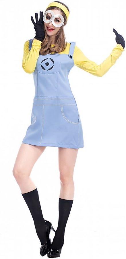 shoperama Minion Kevin Start Yellow Carnival Costume Dress Adult ...