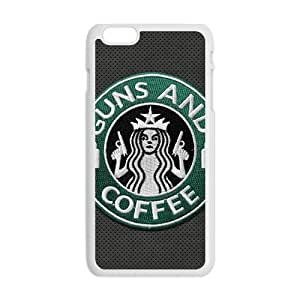 Starbucks design fashion cell phone case for iPhone 6 plus