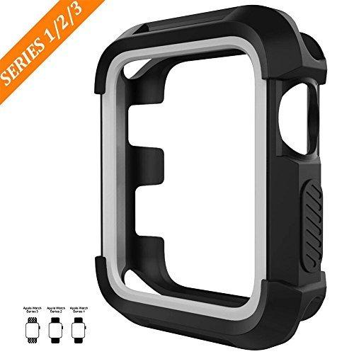 For Apple Watch Case, BEPARTNER Apple Watch Cover for iWatch Armor, Protector for Apple Watch Series 3 / Series 2 / Series 1 / Nike / Sport Edition(42mm, 38mm), Universal Rugged Sport