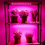 Grow Light Strip Kit 45W, 4 pcs 16 Inches LED Grow