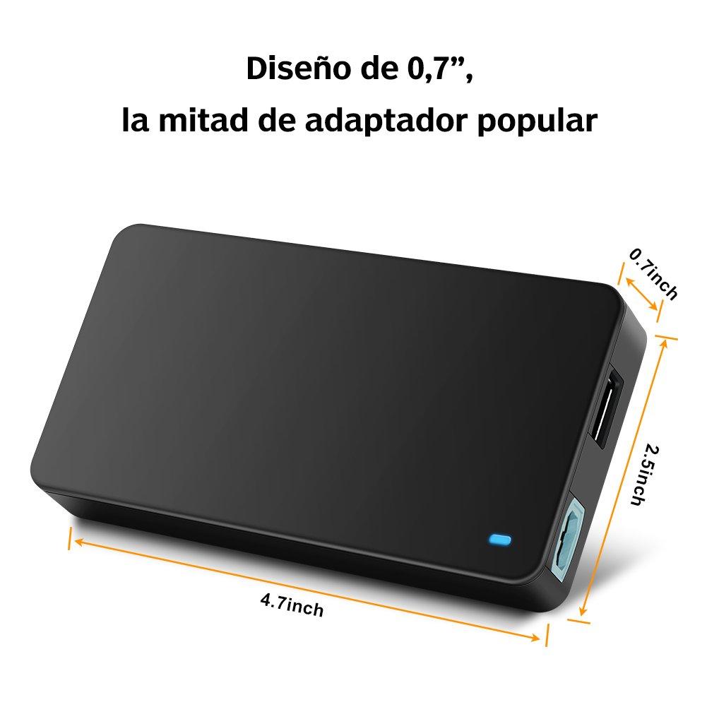 Outtag 90W Cargador Alimentación Adaptador Universal para portátil Acer HP/Compaq Dell Delta IBM Sony Fujitsu Toshiba NEC GreatWall Samsung LG ...