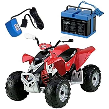 Amazon.com: Peg Perego Polaris Outlaw - Red: Toys & Games