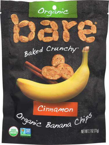 Bare fruit Chip Banana Cinnamon Org 2.7 OZ (Pack of 12)