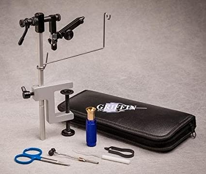 with discount offer on fly tying tools Angelsport-Fliegen-Bindematerialien GRIFFIN ODYSSEY SPIDER VISE Angelsport-Köder, -Futtermittel & -Fliegen