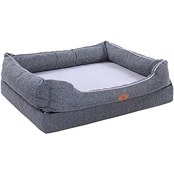 Amazon Com Friends Forever Orthopedic Dog Bed Lounge