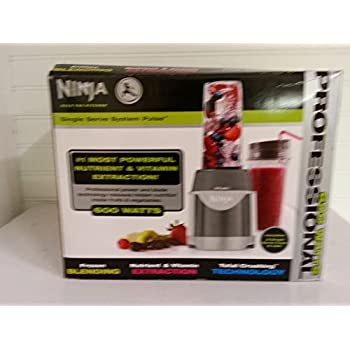 Ninja Professional 600W Smoothie Mixer Single Serve Pulse Blender System   BL100