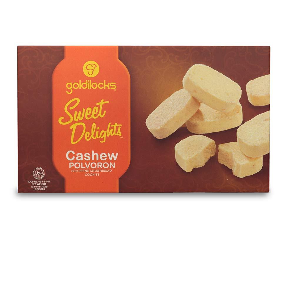 Goldilocks Sweet Delights Cashew Polvoron 10.60oz (300g)