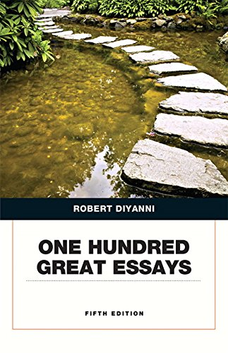 Picture of an One Hundred Great Essays 5th 9780134053387