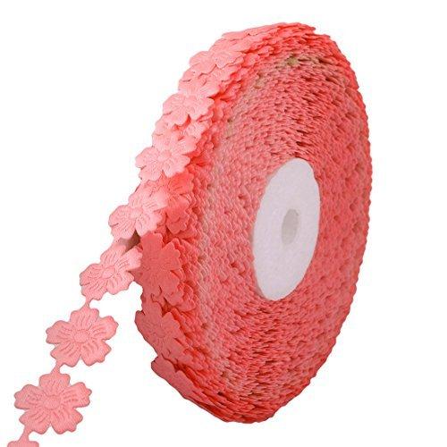 Amazon.com: eDealMax poliéster Festival de decoración Floral de la Cinta del Regalo DIY Diseñado Embalaje Rollo DE 20 yardas rosa salmón: Health & Personal ...