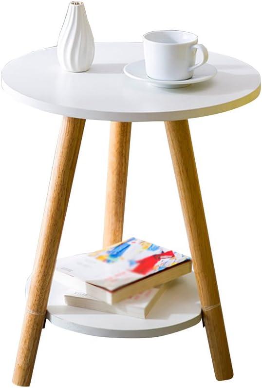 Verhandelbaar KangJZ-Tables KJzhu woonkamertafel, creatieve multi-layer-salontafel sofa kant slaapkamer combinatie balkon restaurant multifunctionele thee tafel groot C-39*47cm JQUdPeB