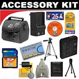 2GB DB ROTH Deluxe Accessory kit For The Kodak Easyshare One, LS753, LS743, LS633, LS443, LS420 Digital Cameras