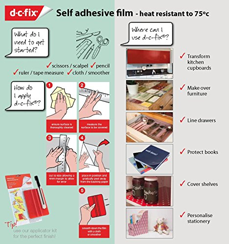 DC Fix 346-0037 Adhesive Film, Medium Walnut by DC Fix (Image #6)