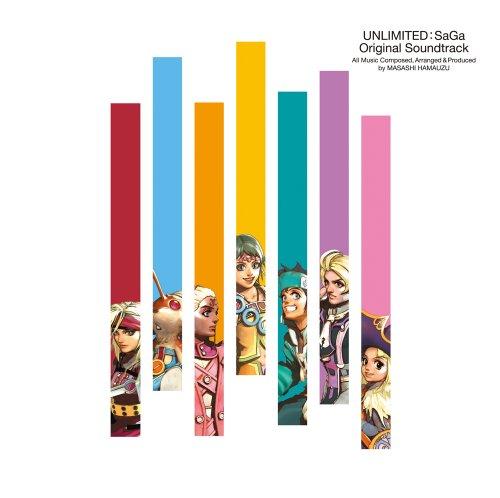 Game Music - Unlimited: Saga Original Soundtrack (2CDS) [Japan CD] SQEX-10242