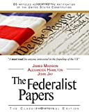 The Federalist Papers, Alexander Hamilton and James Madison, 1441407960