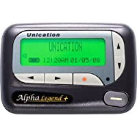 Unication Alpha Legend+ Narrowband Alphanumeric Pager