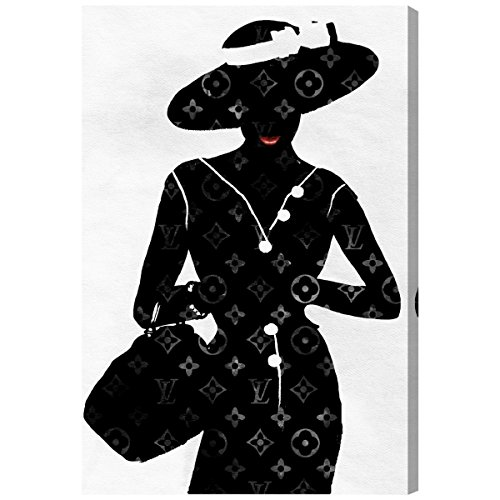 Silhouette of a Lady by Oliver Gal | Contemporary Premium Canvas Art