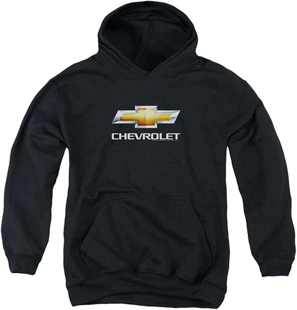 Chevrolet CHEVY BOWTIE STACKED Licensed Sweatshirt Hoodie