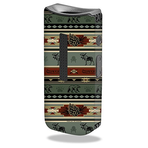 MightySkins Skin for Davinci IQ Vape - Cabin Stripes for sale  Delivered anywhere in Canada