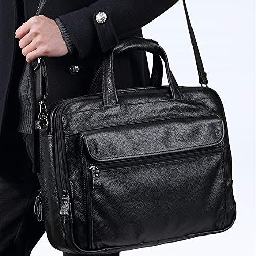 40x12x32cm Business estensibile Grande Custodia da nero durevole colore viaggio Mlmhlmr per acqua laptop Nero borsa Storage con OvPgpqw