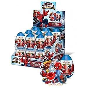 Amazon.com: 5 x Spiderman fiesta sorpresa huevos – Botín ...