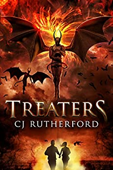 Treaters: An Post Apocalyptic Survival Horror (The Hellswar Book 1) by [Rutherford, CJ]