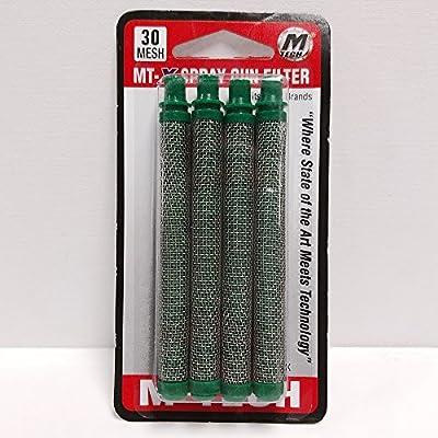 M-Tech Airless 30 Mesh Airless Spray Gun Filters, 4-Pack
