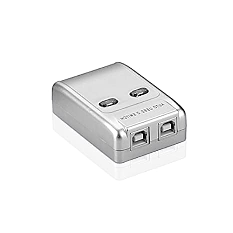 SINEOC Puerto doble USB compartido 2 port USB sharing switch