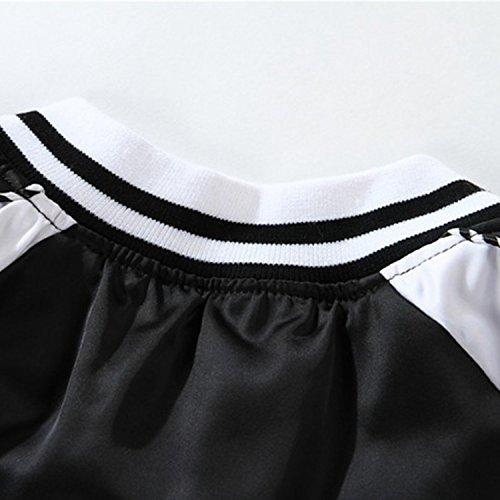 Femme Homme Baseball Printemps Noir Sport Outwear Bold Longue Hiver Veste Blazar Manche Jacket Manner x0XqwY4q6