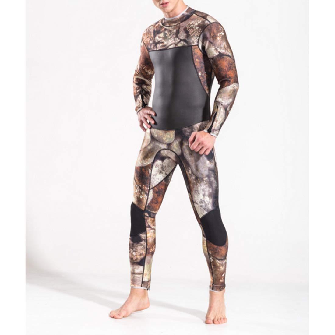 FELICIGG Der Neopren-Material-Sonnencreme-Kleidung der Wetsuit-Männer Männer Stärke 3mm tauchende tauchende tauchende Kleidung-Wärmedämmungs-Einheits-Entwurfs-Lange Hülse B07PKQ2LQY Neoprenanzüge Ein Gleichgewicht zwischen Zähigkeit und Härte c14b23