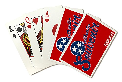 (Visited Tennessee - Authentic Souvenir (Playing Card Deck - 52 Card Poker Size with Jokers))