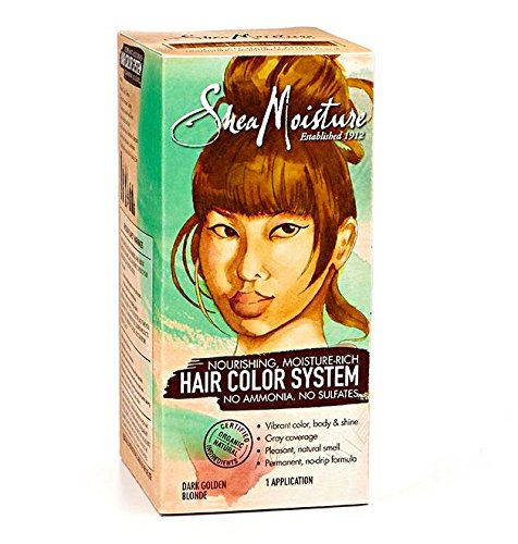 Amazoncom  Shea Moisture Light Brown Hair Color System  Sulfate