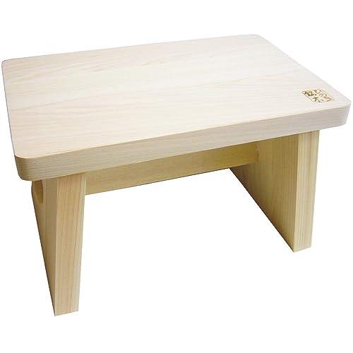 木曽工芸 檜風呂椅子