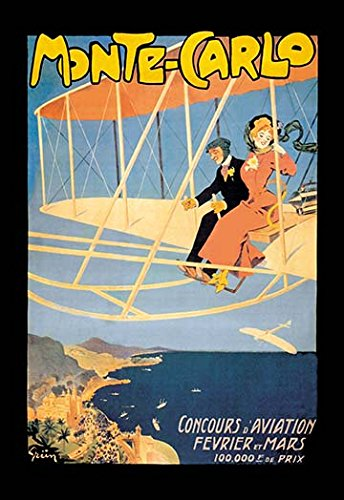 Buyenlarge Monte Carlo Concours d39;Aviation 20x30 poster
