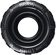 KONG Tires - Durable Rubber Chew Toy and Treat Dispenser for Power Chewers - For Medium/Large Dogs