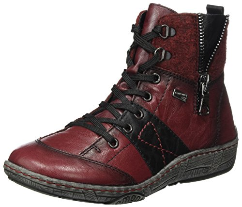 Remonte Women's D3891 Snow Boots, Red Red (Schwarz/Bordeaux/Medoc 35)