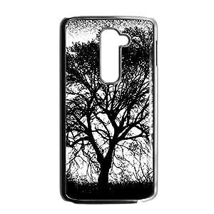 Unique horrific black tree Phone Case for LG G2